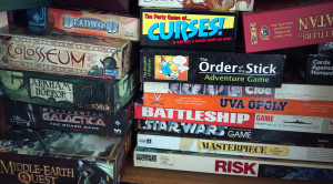 My games library - a real mish-mash