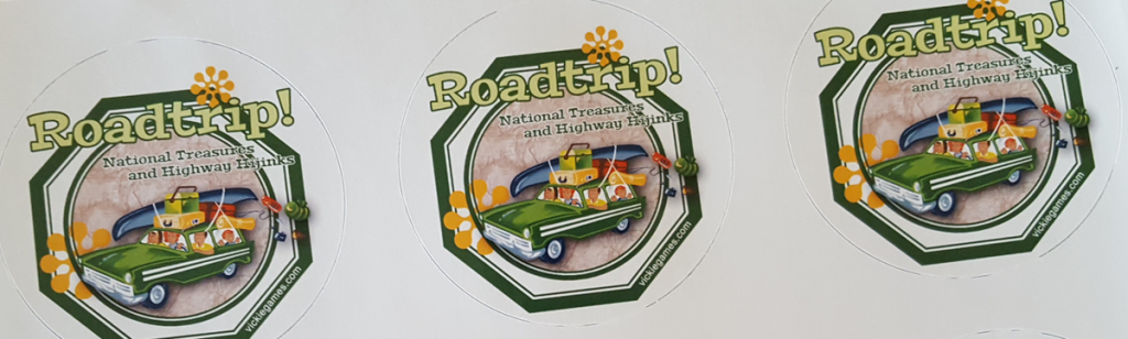 Roadtrip! Sticker Prototype