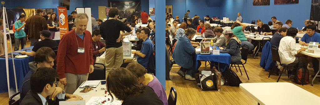 Protospiel San Jose packed them in!